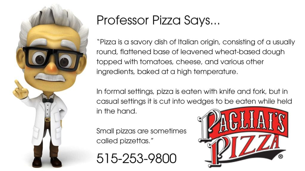 professor pizza